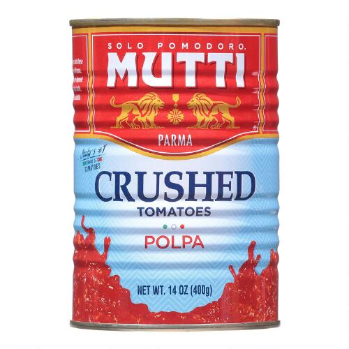 Mutti Finely Chopped Tomato Pulp, Set of 12