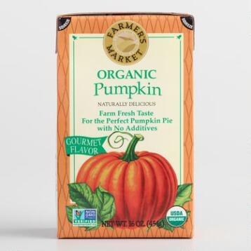 Farmers' Market Pumpkin Purée Tetrapak, Set of 6