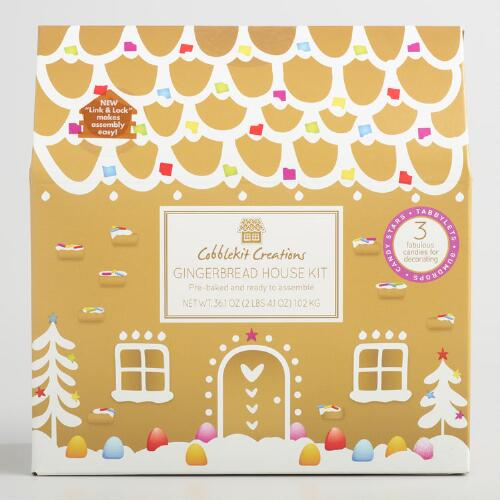 Alpine Gingerbread House Kit