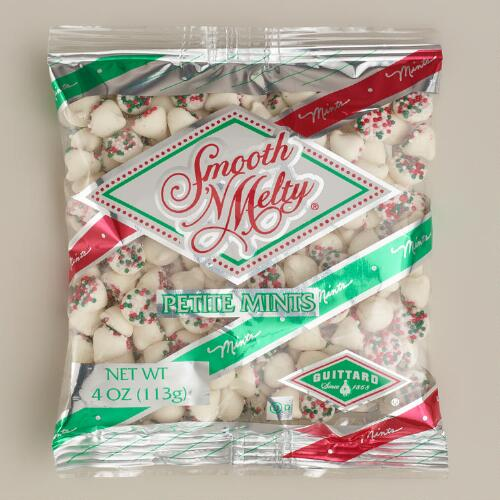 Guittard Smooth and Meltys Petite Christmas Mints