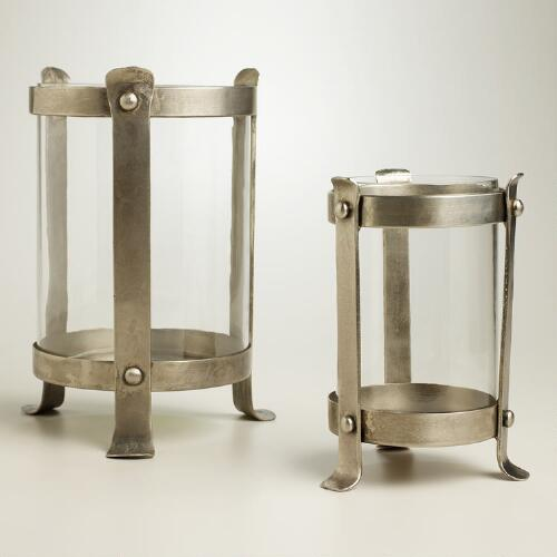 Blacksmith Hurricane Candleholders