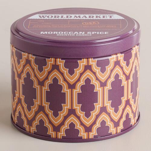 Moroccan Spice Travel Candle