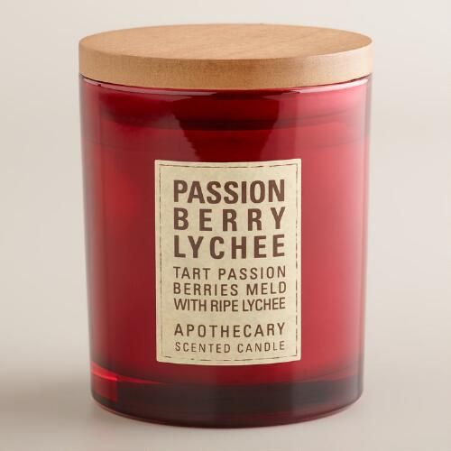 Passionberry and Lychee Apothecary Candle