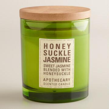 Honeysuckle and Jasmine Apothecary Candle
