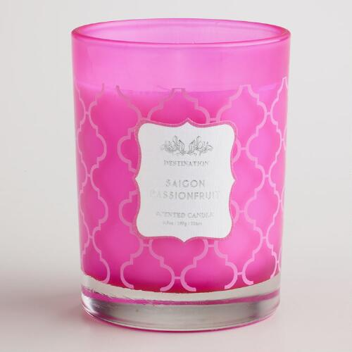 Passion Fruit Saigon Destinations Candle