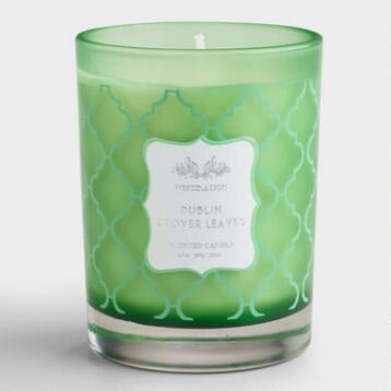 Clover Leaves Dublin Destinations Candle