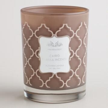 Vanilla Incense Cairo Destinations Candle