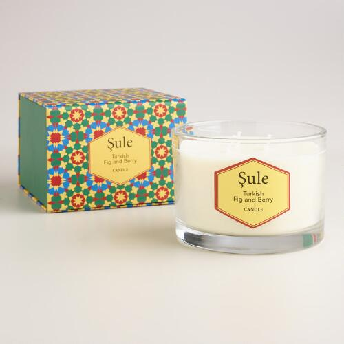 Fig and Berry Sule Turkish Boxed Candle