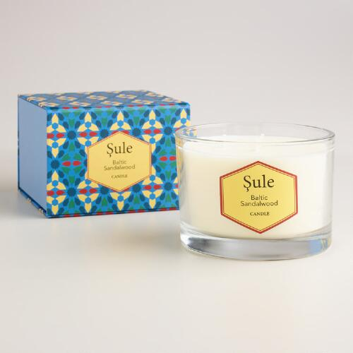 Persian Pomegranate and Orange Sule Boxed Candle