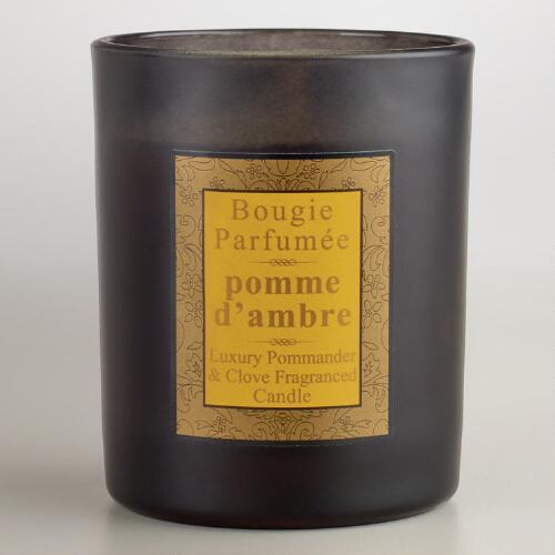 Clove and Pommander French Candle
