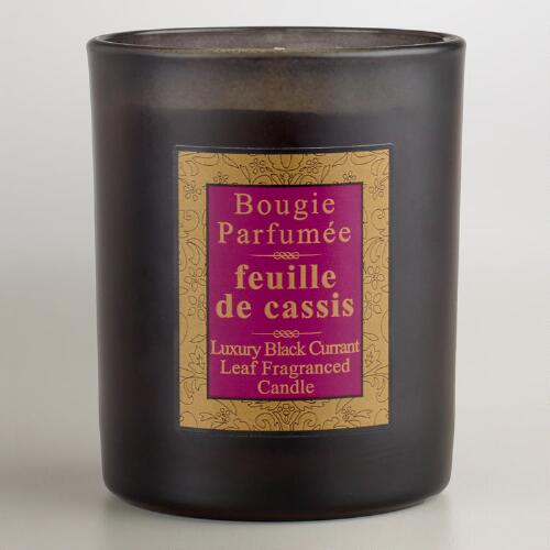 Blackcurrant Leaf French Candle