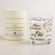 Plumeria French Boxed Candle