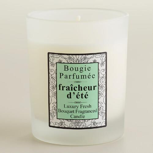 Fresh Bouquet French Candle