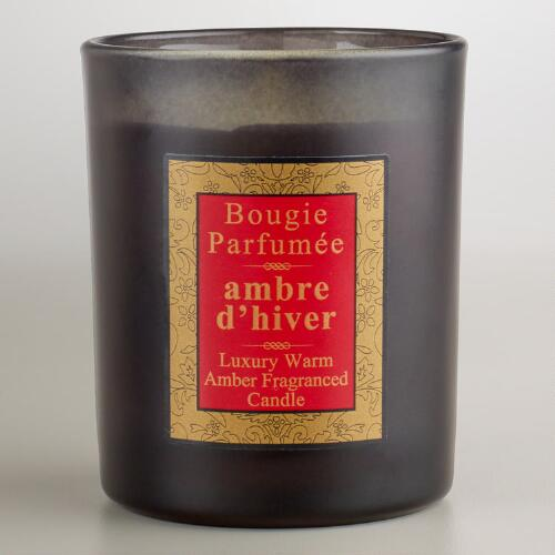 Warm Amber French Candle