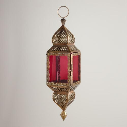 Medium Purple Kamali Hanging Lantern