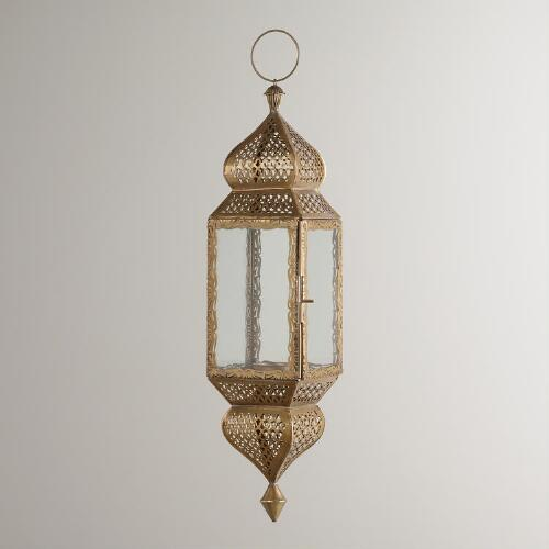 Large Clear Kamali Hanging Lantern