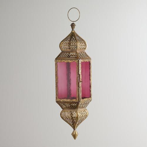 Large Purple Kamali Hanging Lantern