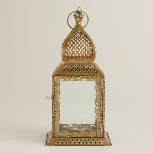 Small Clear Kamali Tabletop Lantern