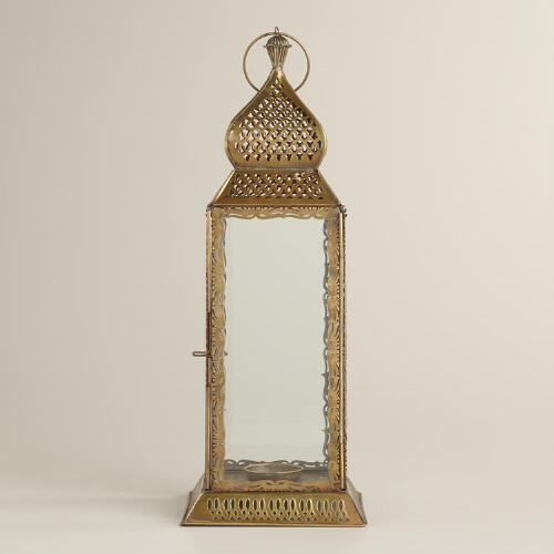 Large Clear Kamali Tabletop Lantern