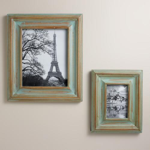 Green Addie Wall Frames