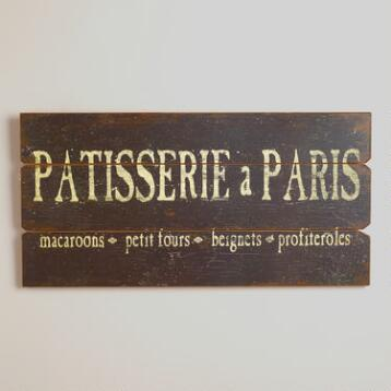 Patisserie a Paris Sign