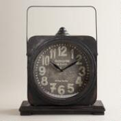 Black Addison Tabletop Clock