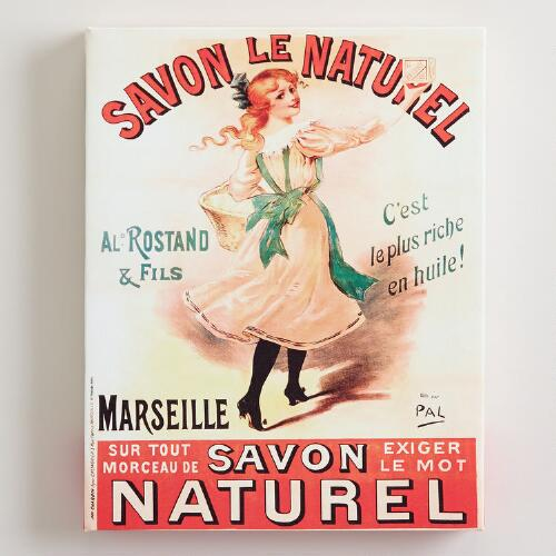 Savon Le Naturel Wall Art