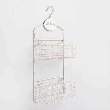 Le Bain Wall Storage Caddy