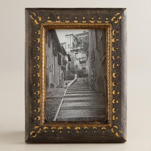 Black and Gold Fiona Frame