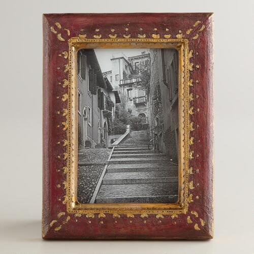 Wine and Gold Fiona Frame