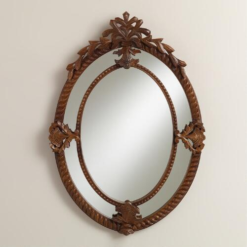 Saracen Double Frame Wall Mirror
