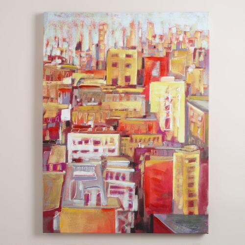 """Rooftops"" by Jennifer Gardner"