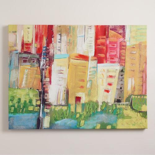 """Cityscape"" by Jennifer Gardner"
