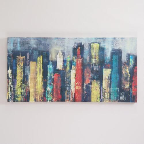 """City Towers II"" by Georges Generali"