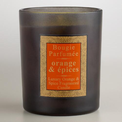 Spicy Orange French Candle