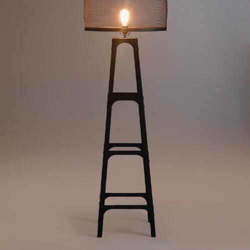 Riveted Floor Lamp Base