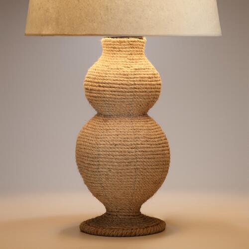 Jute Table Lamp Base