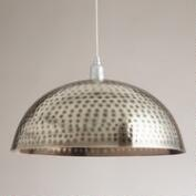 Hammered Metal Pendant Lamp