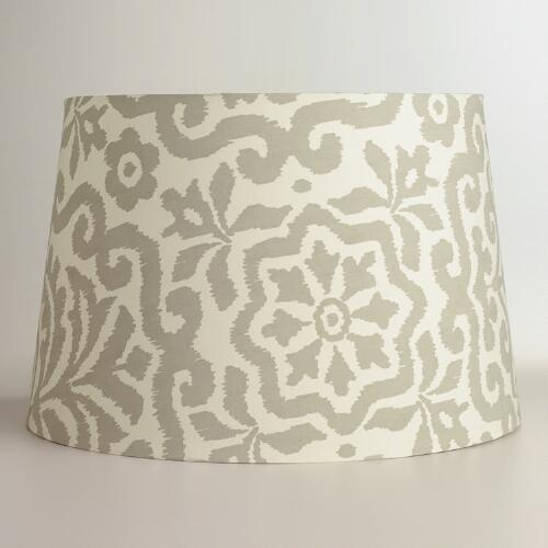 Cream Darlington Floor Lamp Shade