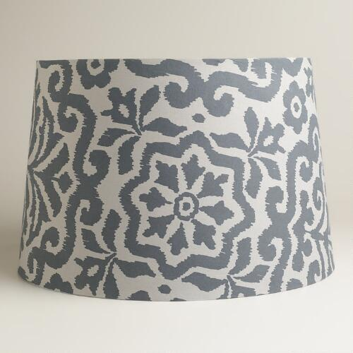 Gray Darlington Floor Lamp Shade
