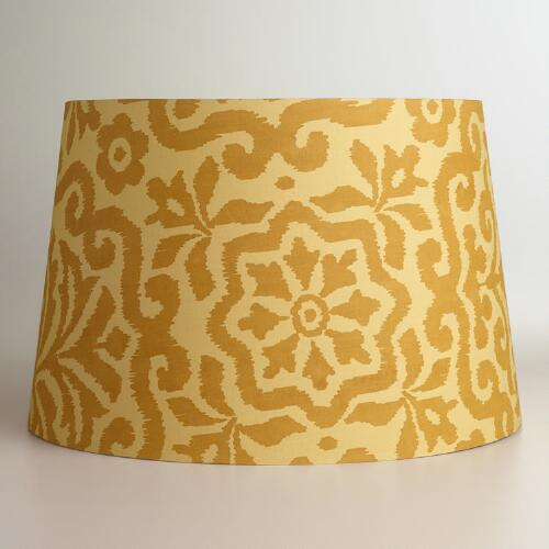 Gold Darlington Floor Lamp Shade