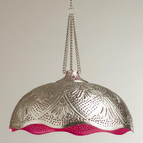Delilah Punched Pendant Lamp