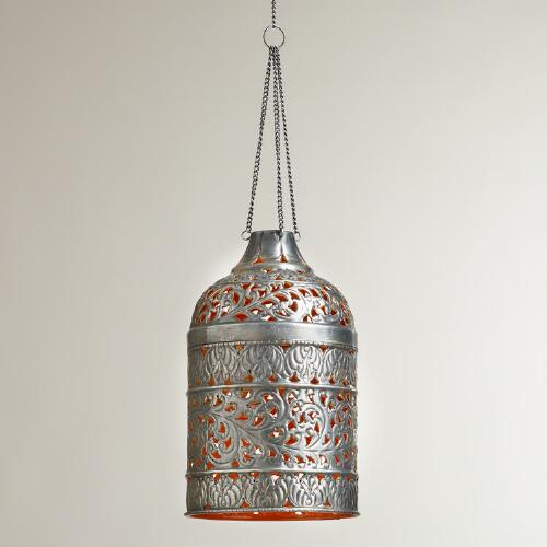 Cloche Punched Pendant Lamp