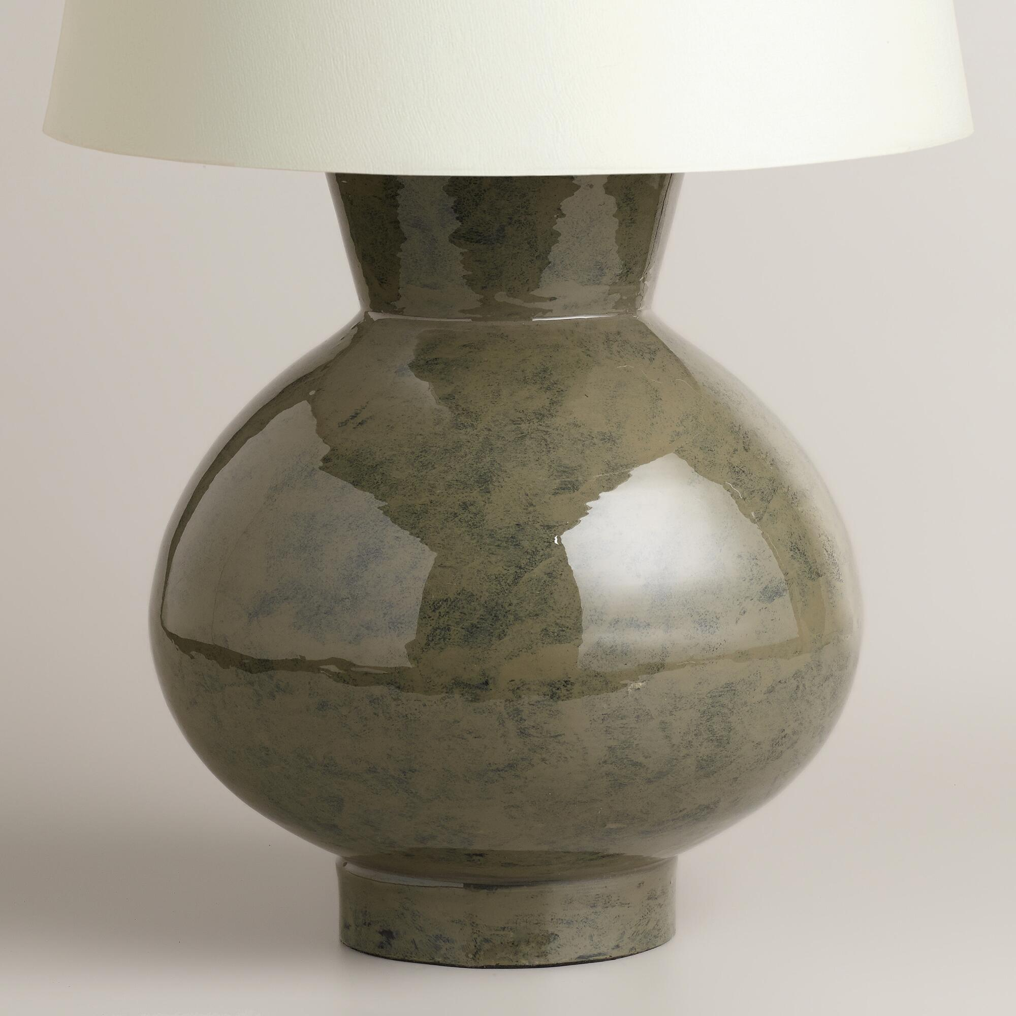 Gray Ceramic Table Lamp Base World Market