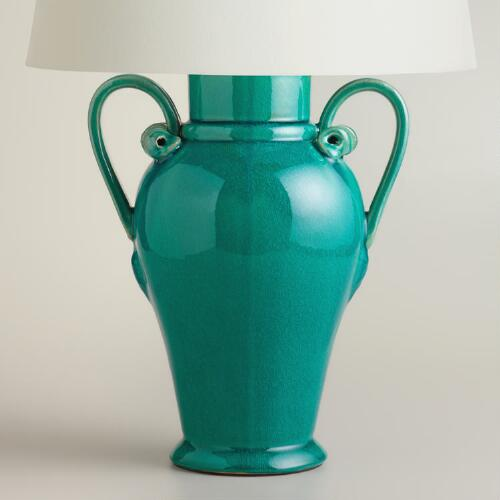 Ceramic Urn Table Lamp Base