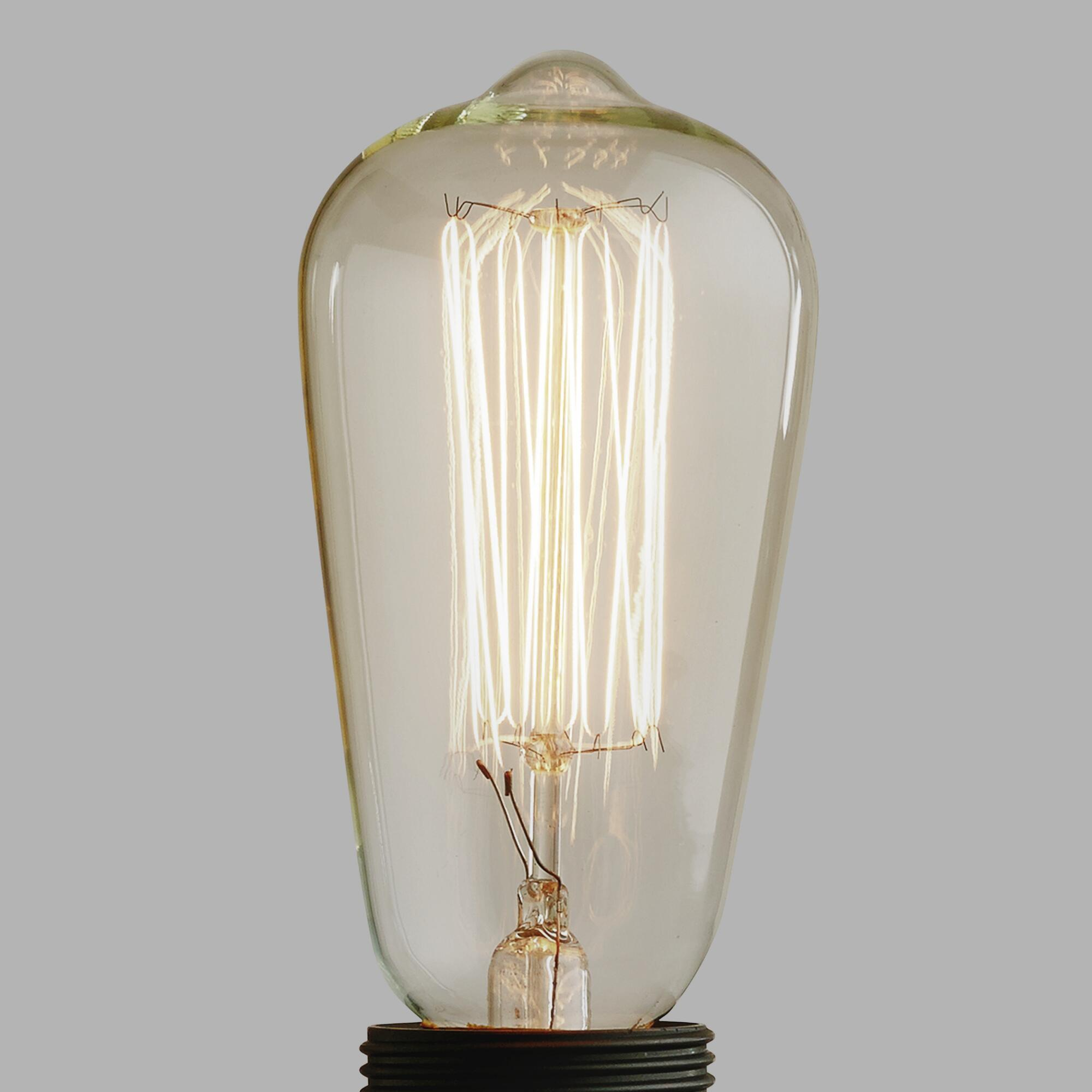 Edison Filament Light Bulb World Market