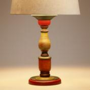 Multicolored Candlestick Accent Lamp