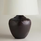Bronze Embossed Table Lamp Base