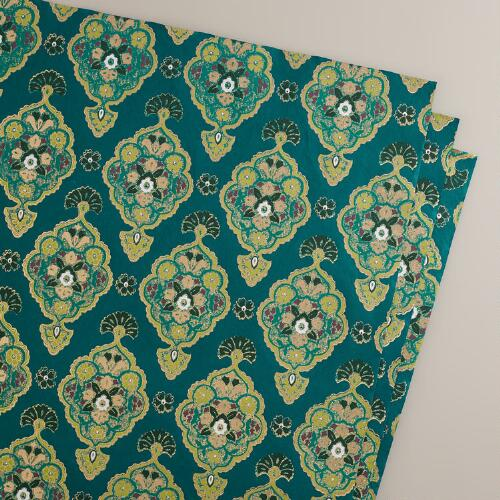 Green Inverness Handmade Giftwrap Sheets