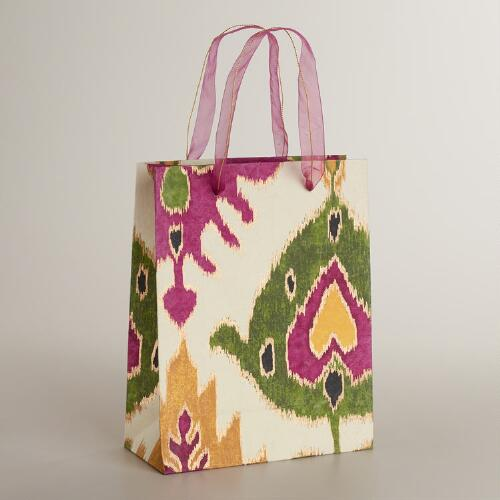 Large Multicolor Aberdeen Handmade Gift Bag